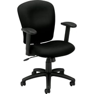 basyx by HON HVL220 Mid-Back Task/Computer Chair for Office and Computer Desks