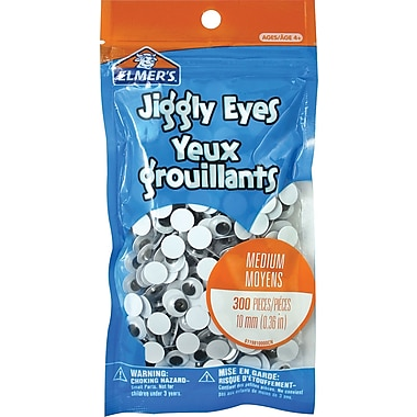 Elmer's® Jiggly Eyes, 300/pack