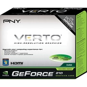 PNY GeForce 210 1GB PCIe Graphics Card