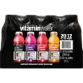 Glaceau Vitaminwater®, Assorted, 20 oz. Bottles, 12 Bottles/Pack