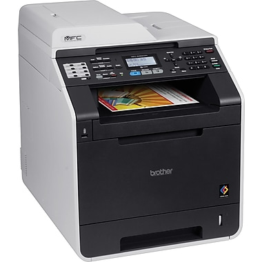 Brother Refurbished MFC-9460CDN Color Laser All-In-One Printer