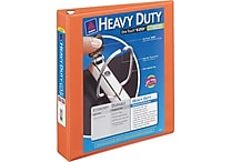 1-1/2' Avery® Heavy-Duty View Binder with One Touch™ EZD® Rings, Bright Orange
