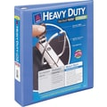2in. Avery® Heavy-Duty View Binder with One Touch™ EZD® Rings, Periwinkle
