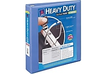 1-1/2' Avery® Heavy-Duty View Binder with One Touch™ EZD® Rings, Bright Blue