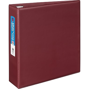 3in. Avery® Heavy-Duty Binder with One Touch™ EZD® Rings, Maroon