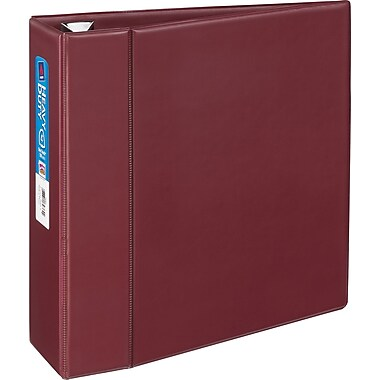 4in. Avery® Heavy-Duty Binder with One Touch™ EZD® Rings, Maroon