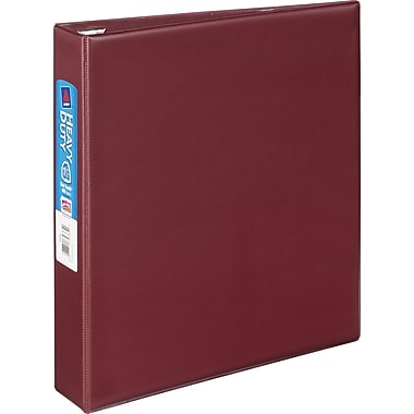 1-1/2in. Avery® Heavy-Duty Binder with One Touch™ EZD® Rings, Maroon