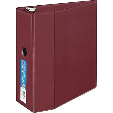 5in. Avery® Heavy-Duty Binder with One Touch™ EZD® Rings, Maroon