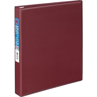 1in. Avery® Heavy-Duty Binder with One Touch™ EZD® Rings, Maroon