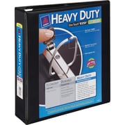 2 Avery® Heavy-Duty View Binder with One Touch™ EZD® Rings, Black