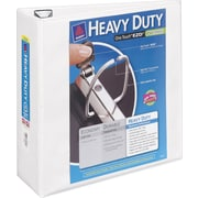 Avery Heavy-Duty 4-Inch D-Ring View Binder, White (79-704)