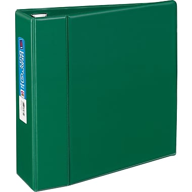 4in. Avery® Heavy-Duty Binder with One Touch™ EZD® Rings, Green