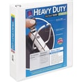 2in. Avery® Heavy-Duty View Binder with One Touch™ EZD® Rings, White