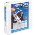 3in. Avery® Heavy-Duty View Binder with One Touch™ EZD® Rings, White