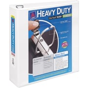 Avery Heavy-Duty 3-Inch D 3-Ring View Binder, White (79-793)