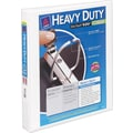 1in. Avery® Heavy-Duty View Binder with One Touch™ EZD® Rings, White