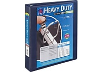 1-1/2' Avery® Heavy-Duty View Binder with One Touch™ EZD® Rings, Navy Blue
