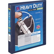 1 Avery® Heavy-Duty View Binder with One Touch™ EZD® Rings, Navy Blue
