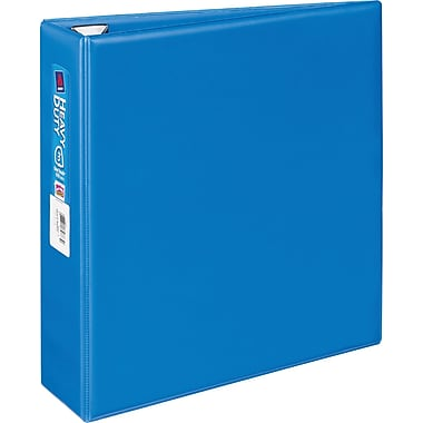 3in. Avery® Heavy-Duty Binder with One Touch™ EZD® Rings, Blue
