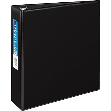 3in. Avery® Heavy-Duty Binder with One Touch™ EZD® Rings, Black