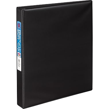 1in. Avery® Heavy-Duty Binder with One Touch™ EZD® Rings, Black