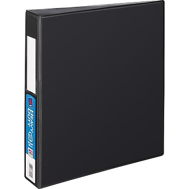 1-1/2in. Avery® Heavy-Duty Binder with Label Holder and One Touch™ EZD® Rings, Black