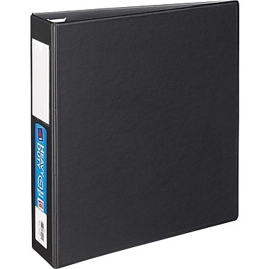 2in. Avery® Heavy-Duty Binder with Label Holder and One Touch™ EZD® Rings, Black