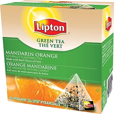 Lipton - Thé vert, orange mandarin