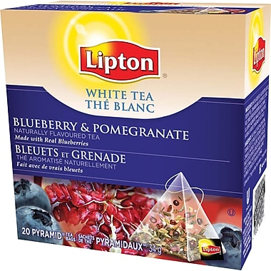Lipton - Thé blanc, bleuet grenadine