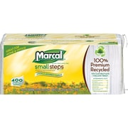 Marcal® Small Steps® 100% Recycled Paper Napkins, 1-Ply, 6/Case