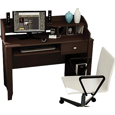 South Shore pact Fit puter Desk Chocolate