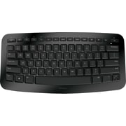 Microsoft J5D-00001 USB Wireless Portable Keyboard, Black