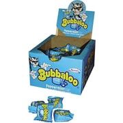 Bubbaloo® Bubble Gum, Peppermint, 60 Pieces/Box