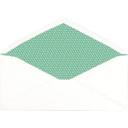 "Staples Sustainable Earth Gummed Security Tint 100% Recycled #10 Envelopes, 4-1/8"" x 9-1/2"", 500/Pack (19963)"