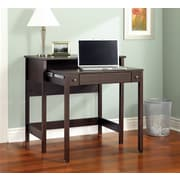 Bush Furniture Brandywine Laptop Desk with Pull-Out Drawer, Porter Finish