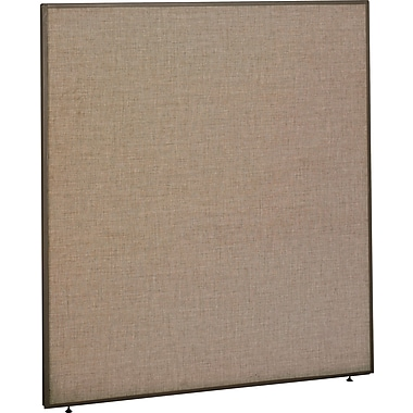 Bush ProPanel 66in.H x 60in.W Privacy Panel, Harvest Tan