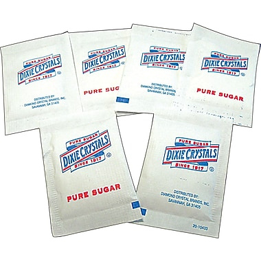 Dixie Crystals Pure Sugar Packets, 1,000/Box