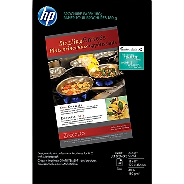 HP® Brochure & Flyer Paper, 11