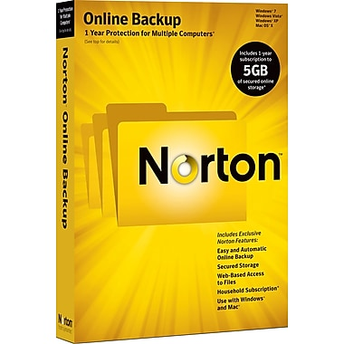 Norton Online Backup 5GB [Boxed]