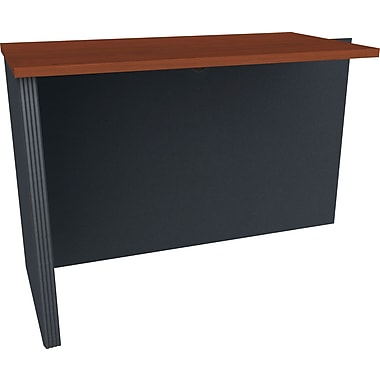 Bestar - Table de retour de la collection Prestige +, fini Bordeaux et graphite