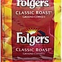 Folgers® Classic Roast Ground Coffee, Regular, .9 oz.,
