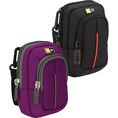Case Logic DCB-302 Compact Digital Camera Cases with Storage