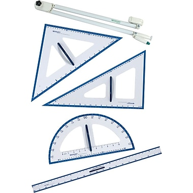 Westcott Chalkboard Geometry Set