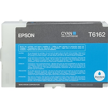 Epson T6162 Cyan Ink Cartridge (T616200)