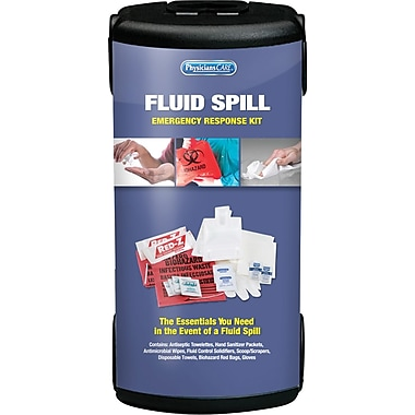 PhysiciansCare® First Responder Fluid Spill First Aid Kit