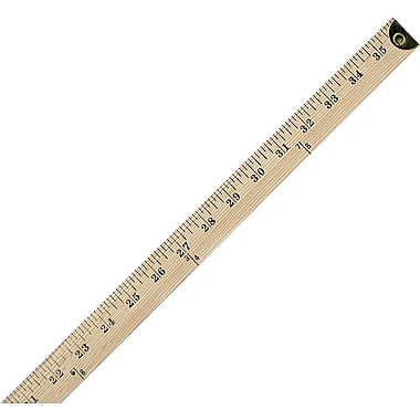 Westcott® Wood Yardstick with Metal Ends, 36in.