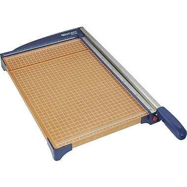 Westcott® Wood Guillotine Trimmer, 12in.