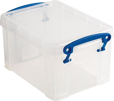 Really Useful Box 1.6 Liter, Clear (1.6C) 673229