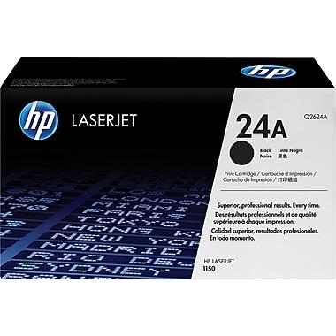 HP 24A (Q2624A) Black Original LaserJet Toner Cartridge