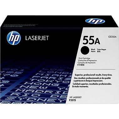 HP – Cartouche de toner noire, 55 (CE255A)